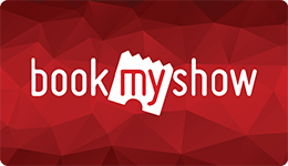 Book My Show E Gift Voucher